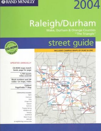 Rand McNally Raleigh/Durham 2004 Street Guide