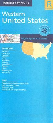 Western USA Regional Road Map