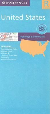 United States Regional Road Map
