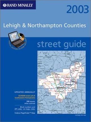Rand McNally Street Guide Lehigh & Northampton Counties