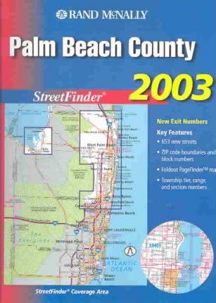 Rand McNally 2003 Palm Beach County Streetfinder
