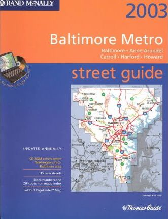 2003 Metro Baltimore Includes