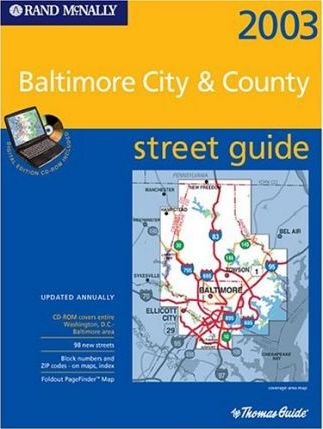Thomas Guide 2003 Baltimore City / County