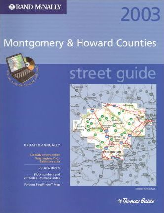 Thomas Guide Digital Edition-2003 Montgomery and Howard Includes CD-ROM
