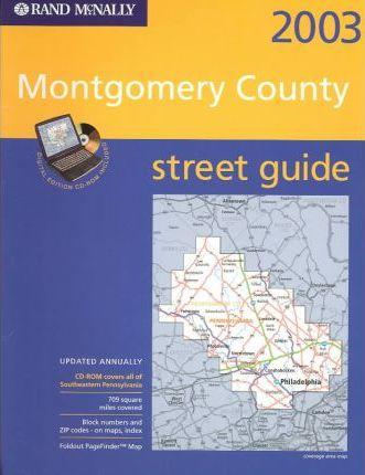 Rand McNally Street Guide Montgomery County