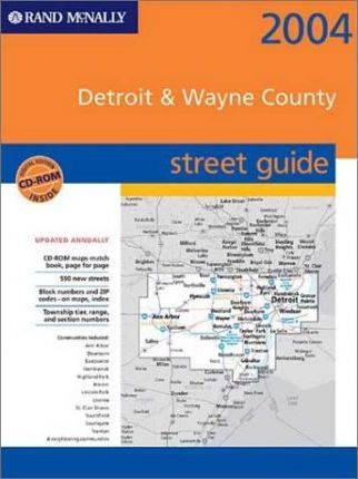 Rand McNally Street Guide Detroit & Wayne Counties