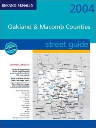 Rand McNally Street Guide Oakland & Macomb Counties