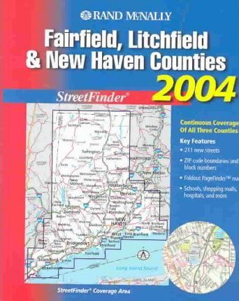 Rand McNally 2004 Fairfield, Litchfield & New Haven Counties