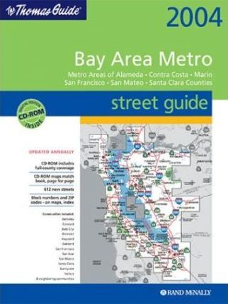 Thomas Guide 2004 Bay Area Metro Street Guide
