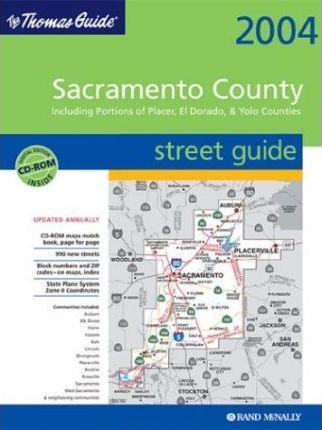 Thomas Guide Digital Edition-Sacramento County // Including Portions of El