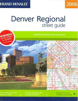 Rand McNally Denver Regional Street Guide