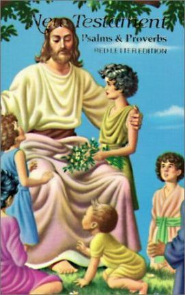 Children's Rainbow New Testament with Psalms and Proverbs-KJV