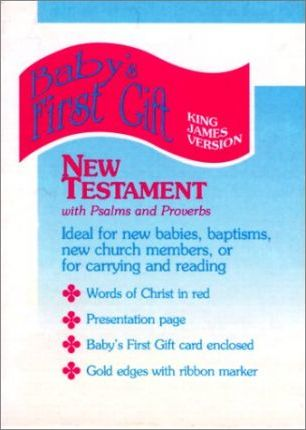 Baby's First Gift New Testament with Psalms and Proverbs-KJV