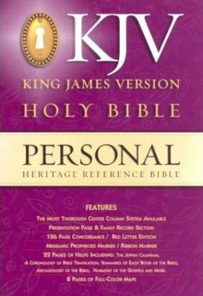 Heritage Personal Reference Bible-KJV