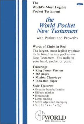 World Pocket New Testament with Psalms and Proverbs-KJV