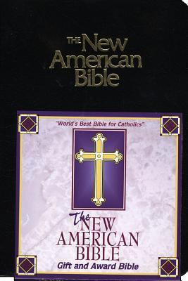 The New American Bible/Gift and Award Bible/Black Imitation Leather/2402blk