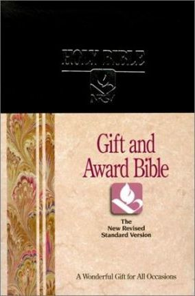 Gift and Award New Revised Standard Version Bible/Navy Blue Imitation Leather