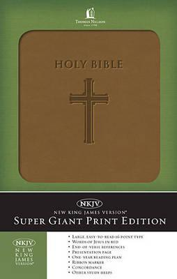 Super Giant Print Bible-NKJV