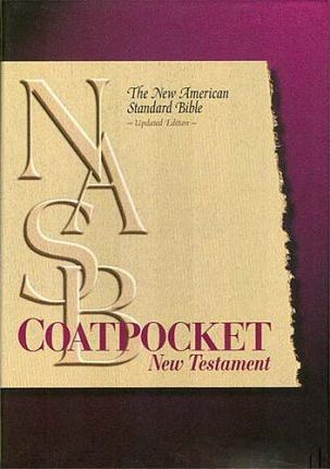 Coat Pocket New Testament-NASB