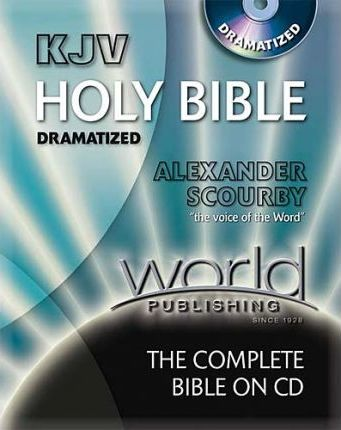 Bib King James Version Alexander Scourby Bible Dramatized