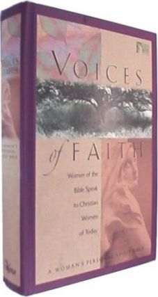 Voices of Faith Woman's Personal Study Bible