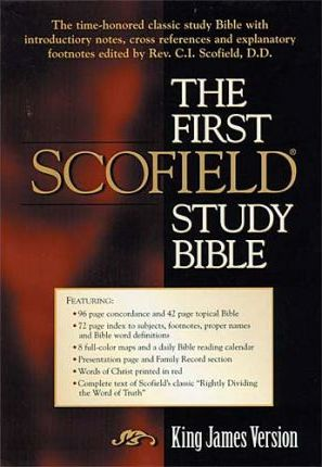First Scofield Reference Bible-KJV