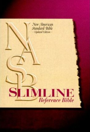 Slimline Reference Bible-NASB