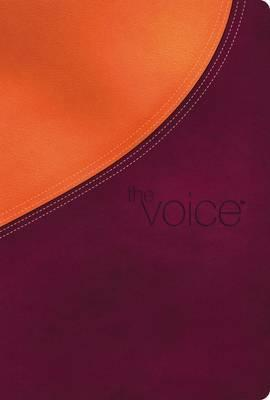 The Voice Bible, Imitation Leather, Orange/Purple