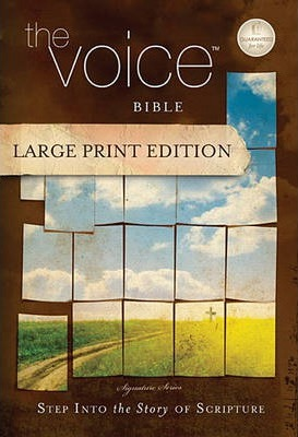 The Voice Bible, Large Print Edition