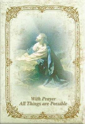 With Prayer All Things Are Possible Prayer Journal