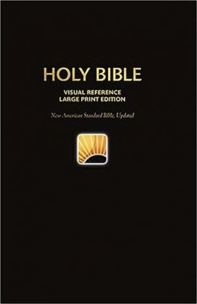 Visual Reference Bible-NASB-Large Print World's Visual Reference System