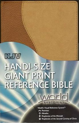 KJV Handi-Size Giant Print Reference Bible with World's Visual Reference System