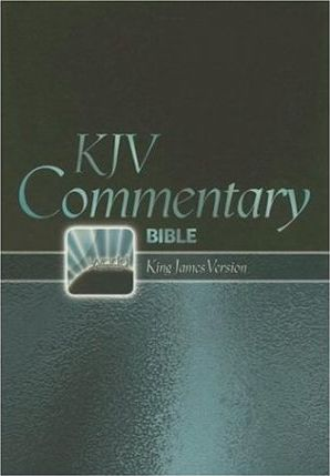 Commentary Bible-KJV-World's Visual Reference System Large Print