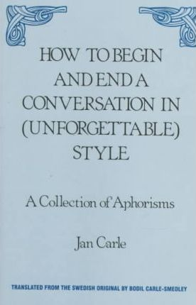 How to Begin and End a Conversation in (Unforgettable) Style