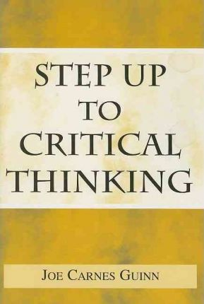 Step Up to Critical Thinking