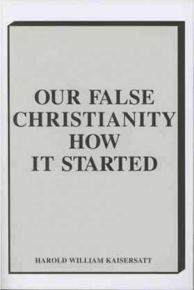 Our False Christianity