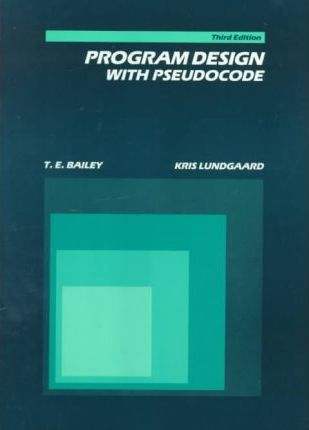 Programme Design with Pseudocode