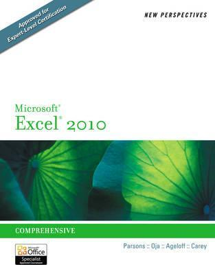 New Perspectives on Microsoft (R) Excel (R) 2010 Cover Image