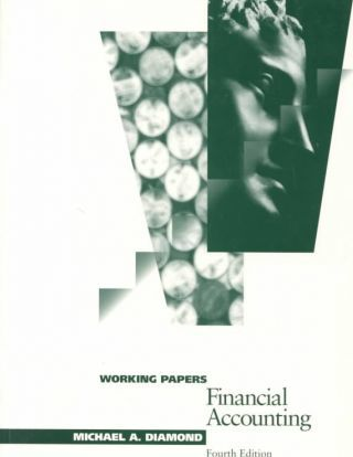 Financial Accounting Working Papers Michael Diamond 9780538840743
