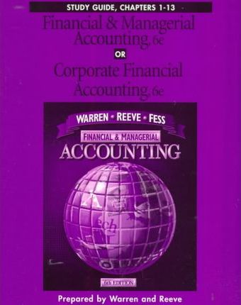 Financial & Managerial Accounting or Corporate Financial Accounting