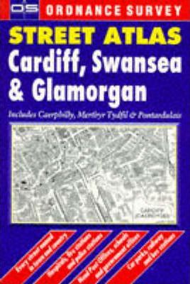 Ordnance Survey Cardiff, Swansea and Glamorgan Street Atlas