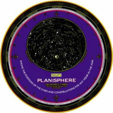 Philip's Planisphere: USA, Middle East, North Africa, Southern Japan