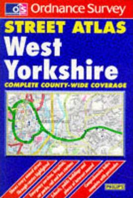 Ordnance Survey West Yorkshire Street Atlas