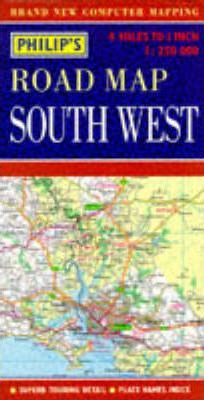 Philip's Regional Road Maps Britain: South West
