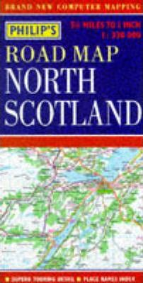 Philip's Regional Road Maps Britain: North Scotland