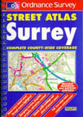 Ordnance Survey Surrey Street Atlas