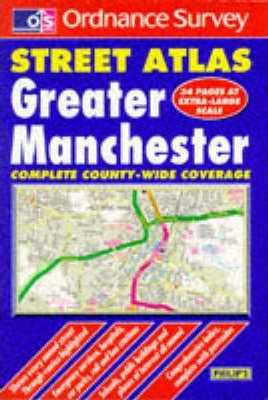 Ordnance Survey Greater Manchester Street Atlas