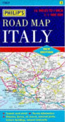 Philip's Road Map of Italy