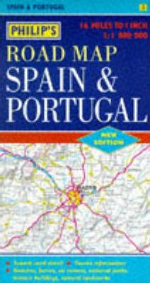 Philip's Road Map of Spain and Portugal