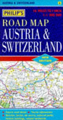 Philip's Road Map of Austria and Switzerland
